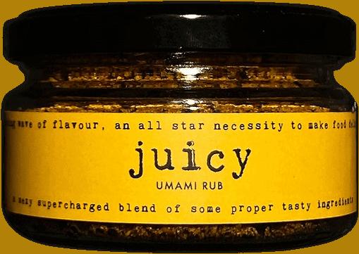 juicy umami rub